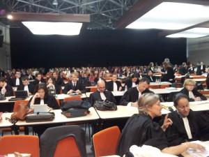 procès PIP salle d'audience avocats et parties civiles